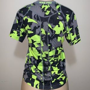 Nike Tops - Nike pro Dri-fit, fitted, size large, camo workout